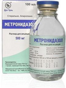 metronidazol nikomed navodila za uporabo