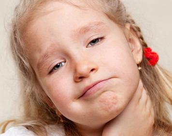 Miramistin per i bambini in gola