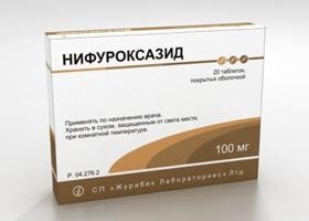 istruzioni di nifuroxazide