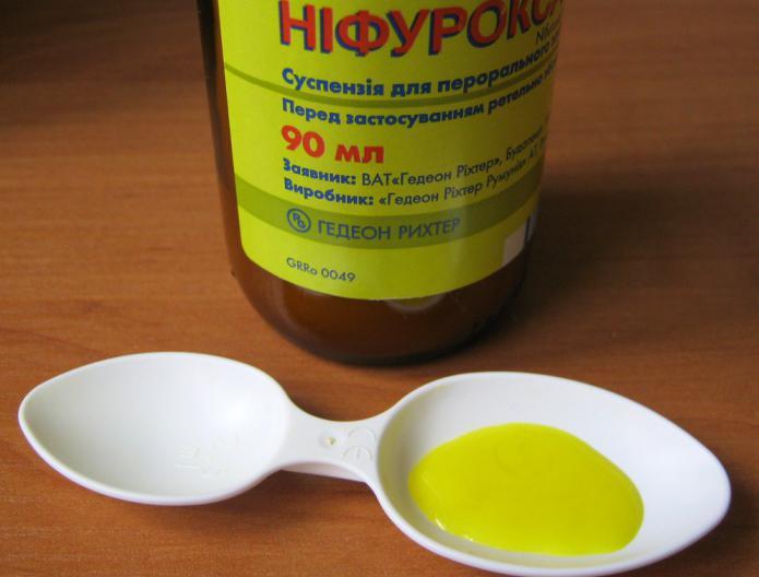 sospensione di nifuroxazide
