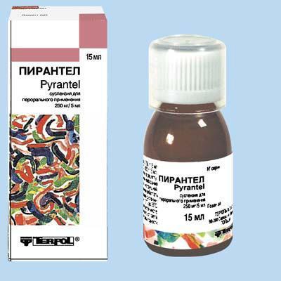 Recensioni sulle sospensioni di Pyrantel