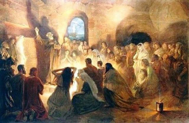 Време је за настанак хришћанства