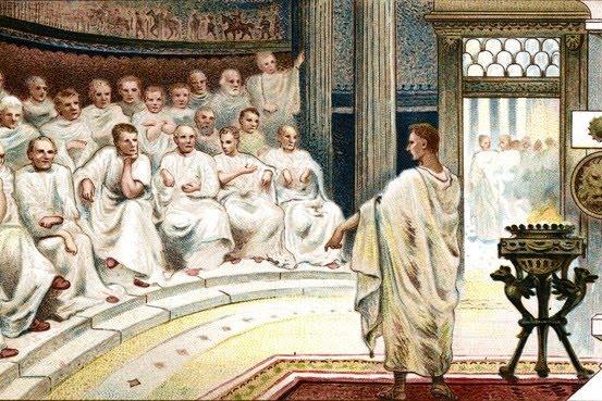 Prav v rimskem imperiju