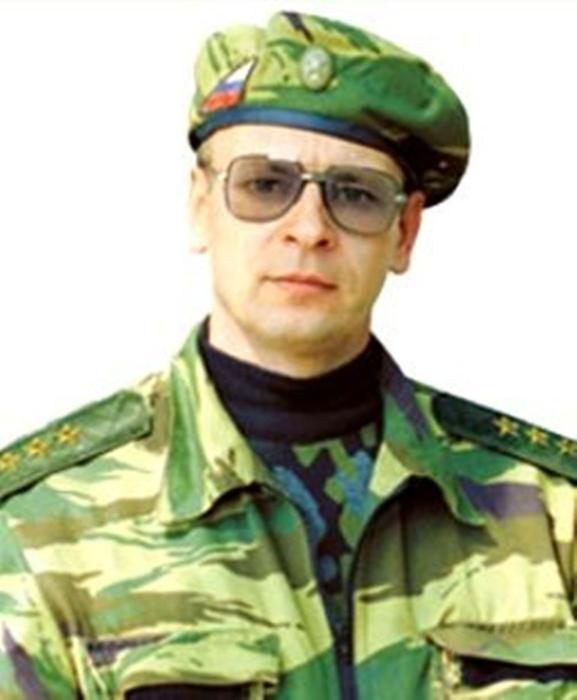 foto del generale Romanov