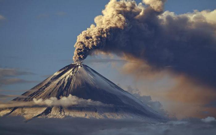 Struktura vulkanov