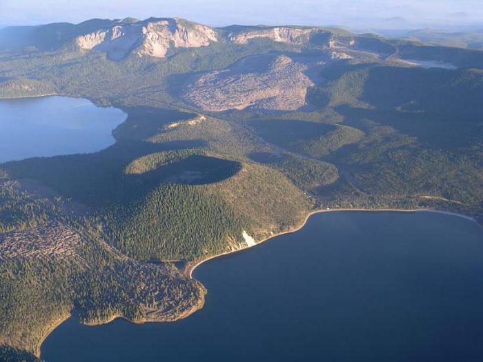 Struktura zemeljske skorje: vulkani