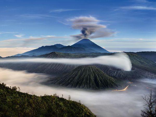Notranja struktura vulkana