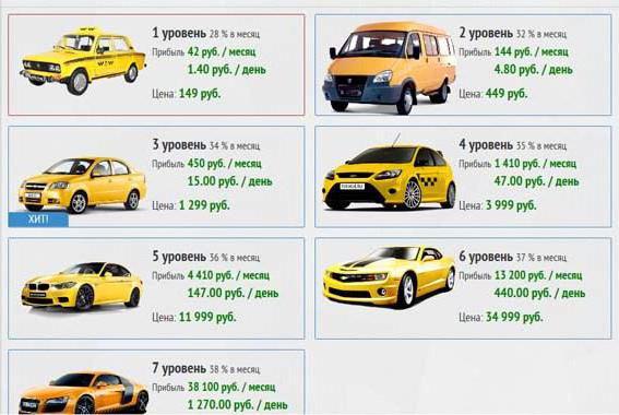 recensioni di taxi