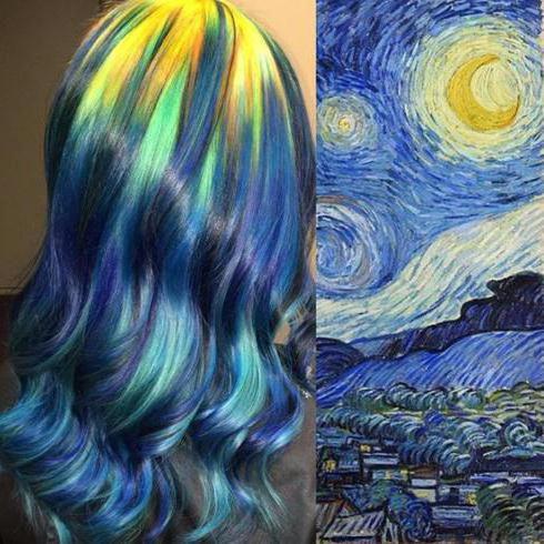dekle z belimi modrimi lasmi