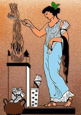 dea greca estia
