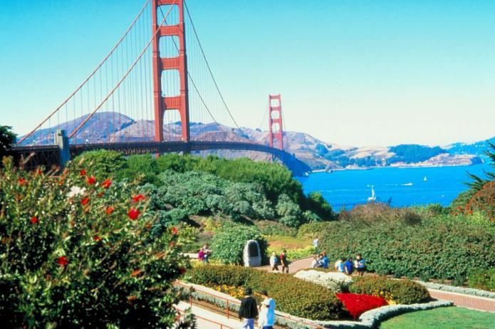 most zlatih vrat v San Franciscu