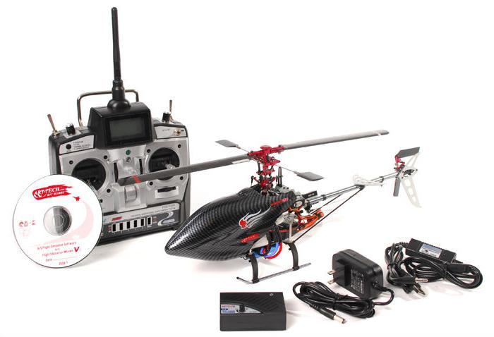 elicottero sulle istruzioni del telecomando
