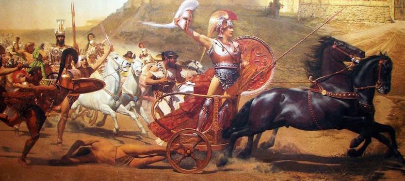 Greccy bohaterowie są śmiertelni