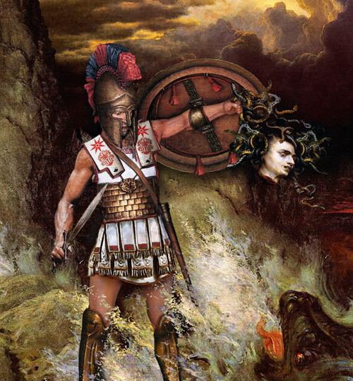 Grecki bohater perseusz