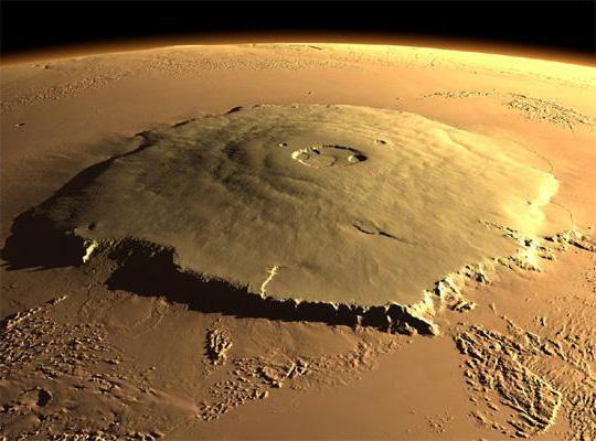La montagna più alta del pianeta del sistema solare