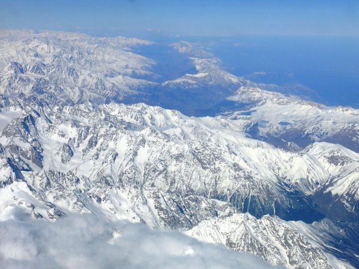 високи планини на Евразия