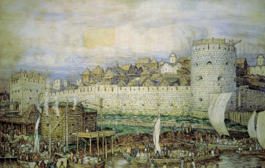 Москва 15. век