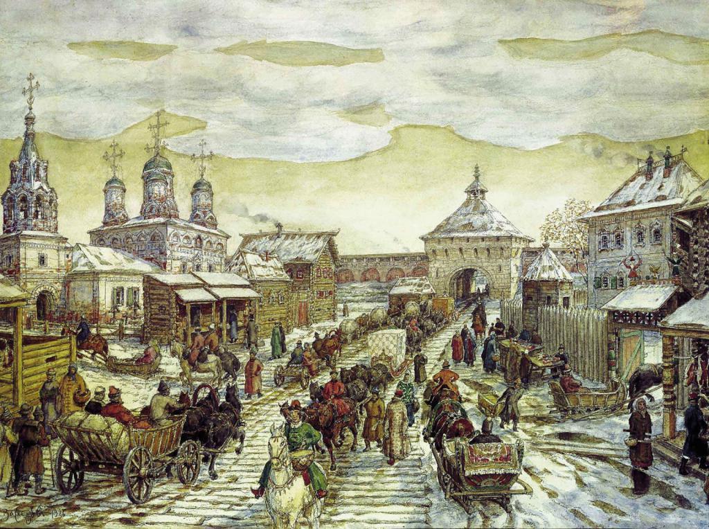 Москва 17. век