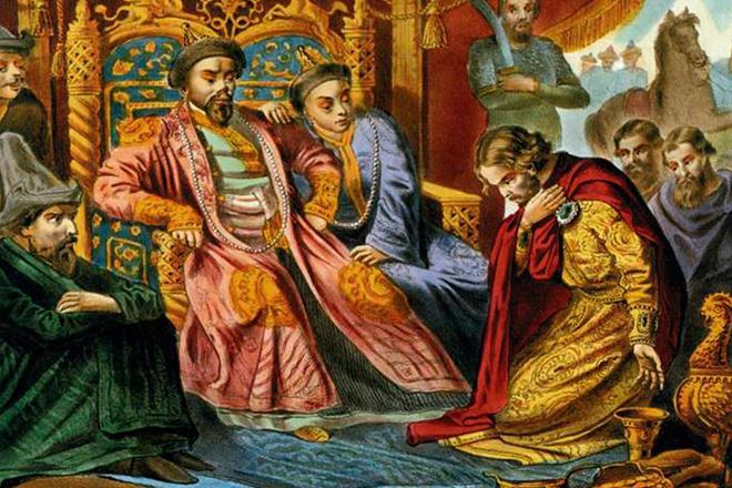 Principe russo nell'Orda d'oro