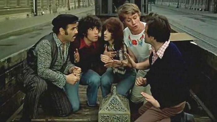 невероятни приключения на италианците в руския филм 1974