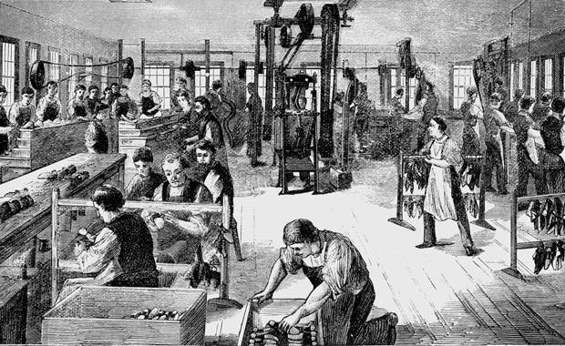 obilježja industrijske revolucije u Rusiji