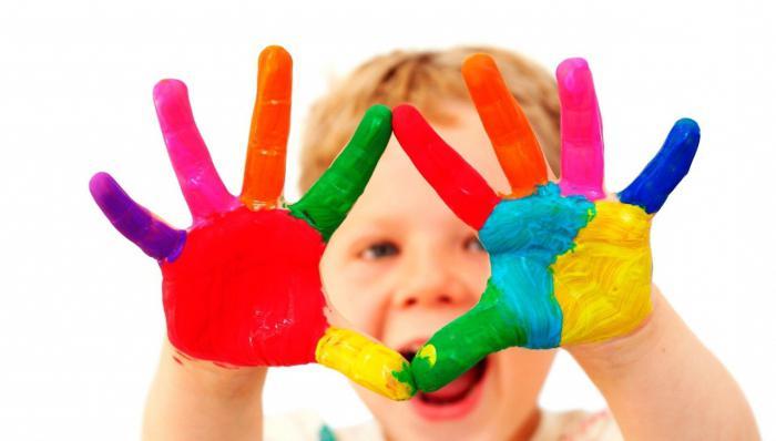 učinak boje na psihu djeteta