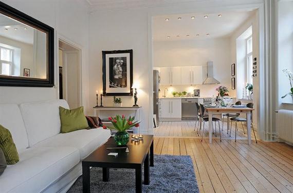 interno di un piccolo appartamento