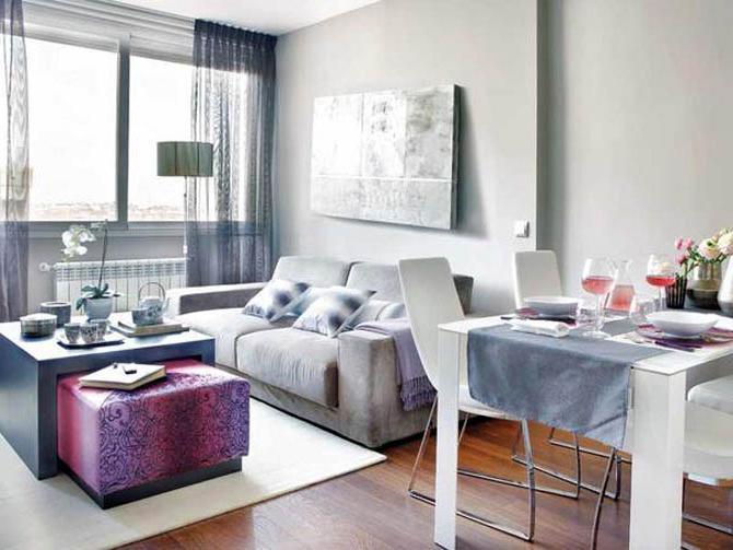 interior design di un piccolo appartamento