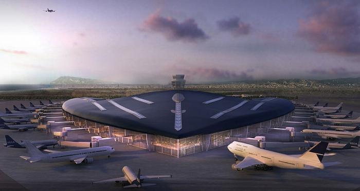 Barcellona.  Aeroporto della Spagna