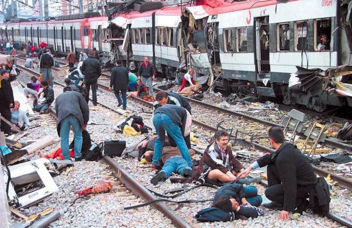 ospedali per la cura dei disastri ferroviari
