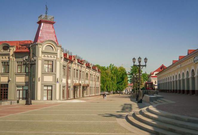 la lunghezza della città di Ufa
