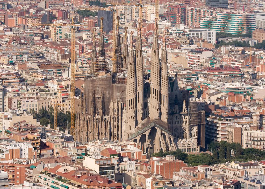 viste di foto di Barcellona con nomi