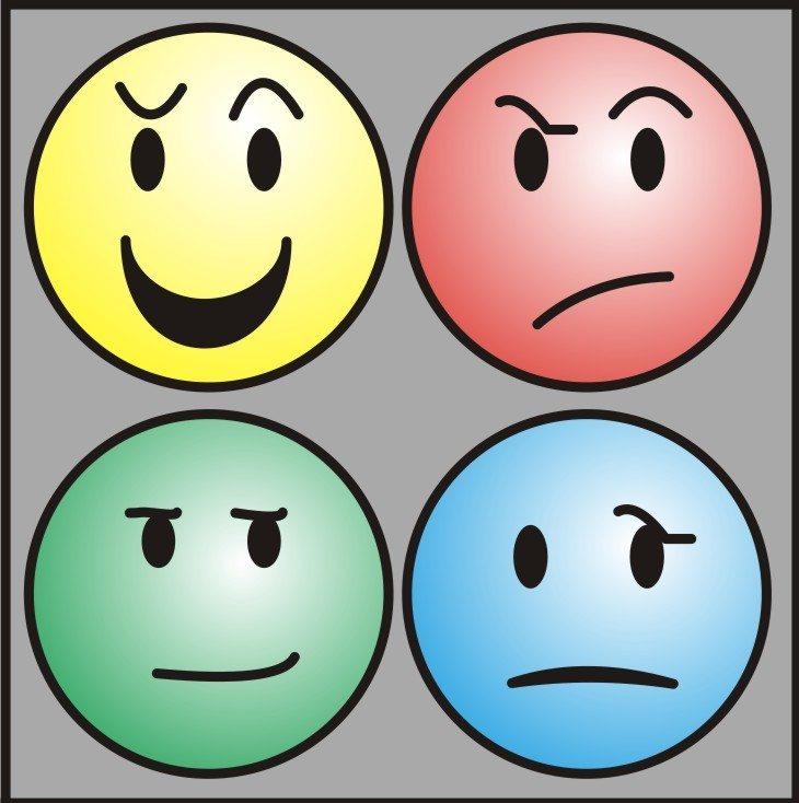 Sorridi con diversi tipi di temperamento