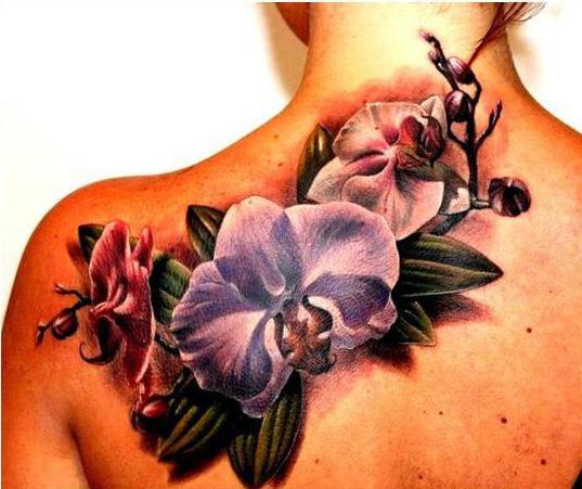 Znaczenie Tatuażu Orchidea