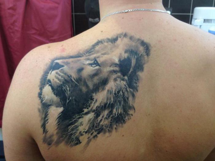 Il valore del tatuaggio del leone