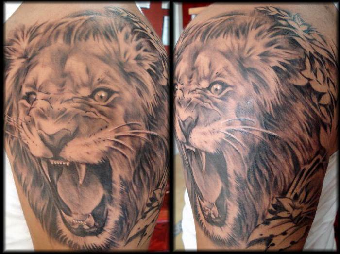 Significato tatuaggio leone