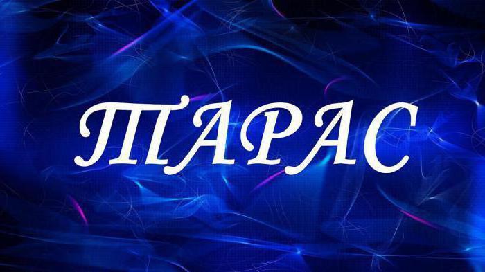 taras significa nome carattere e destino