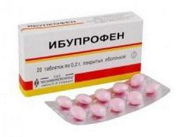 istruzioni di ibuprofen per l'uso