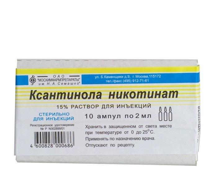 ksantinol nikotinat