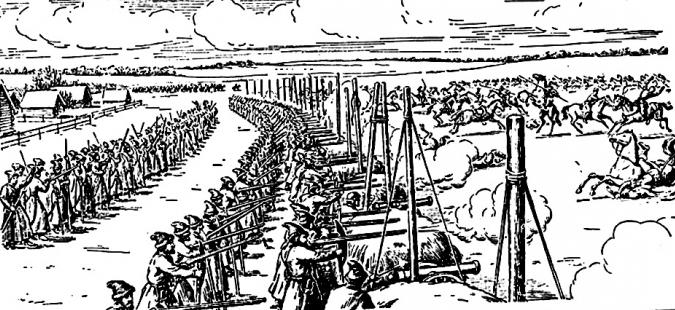 riforme militari Ivan il Terribile brevemente