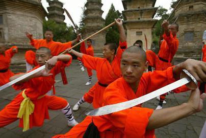 Izvođenje Shaolinskih redovnika