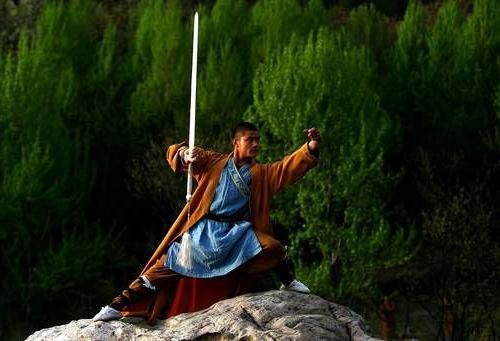 Shaolin monah vježbe