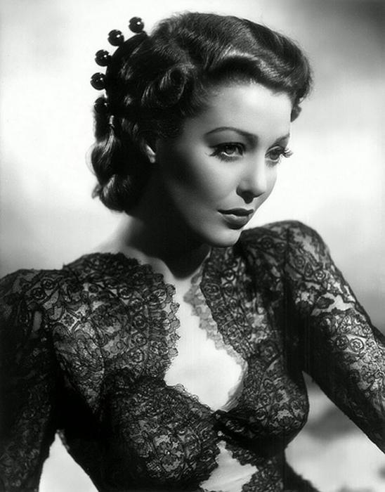 Най-красивата актриса в Холивуд.