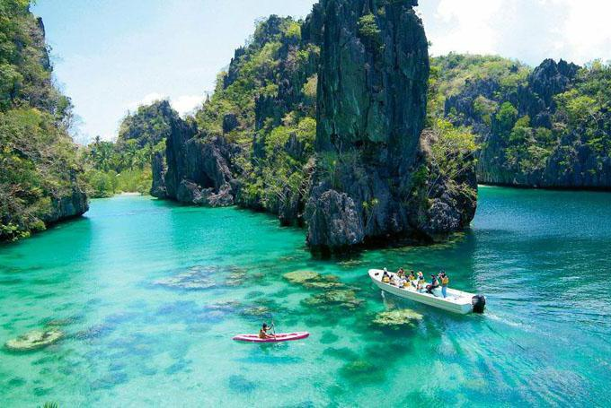 Otok Palawan Filipini