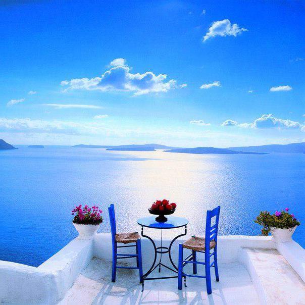 odmor na otoku Santorini