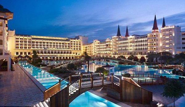 Najskuplji hotel u Turskoj je palača Mardan