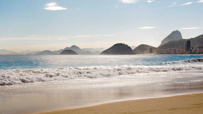 spiaggia brasiliana di copacabana
