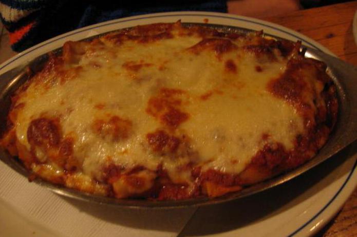 Италиански ястия