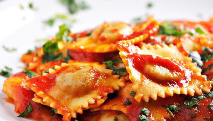 Италиански ястия с паста