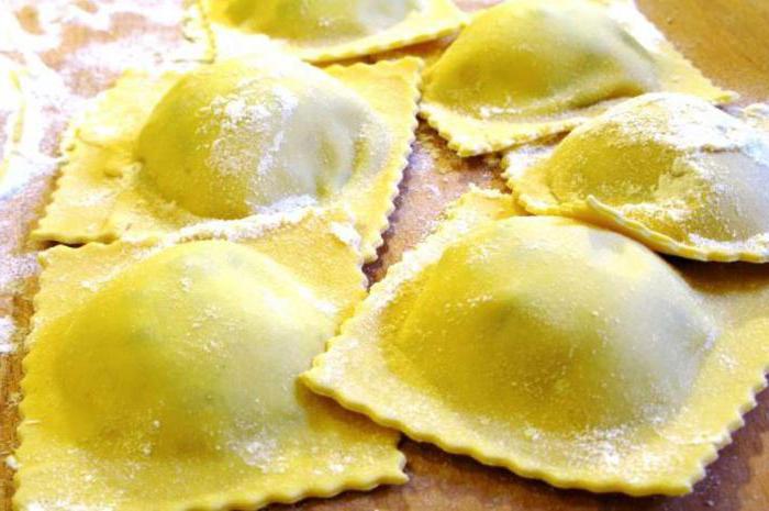 Снимка на ястия от италианската кухня